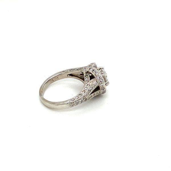 Estate Diamond Engagement Ring Image 3 Toner Jewelers Overland Park, KS