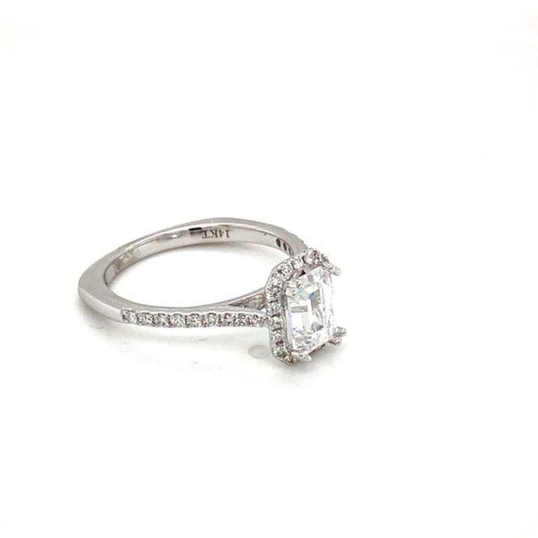 White Gold Diamond Engagement Ring Mount Image 3 Toner Jewelers Overland Park, KS