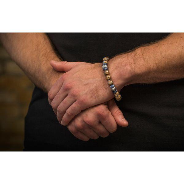 Woolly Mammoth Men's Bead Bracelet Image 4 Toner Jewelers Overland Park, KS