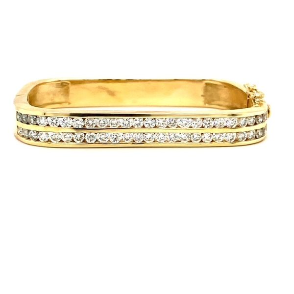 Estate Square Diamond Bracelet Toner Jewelers Overland Park, KS