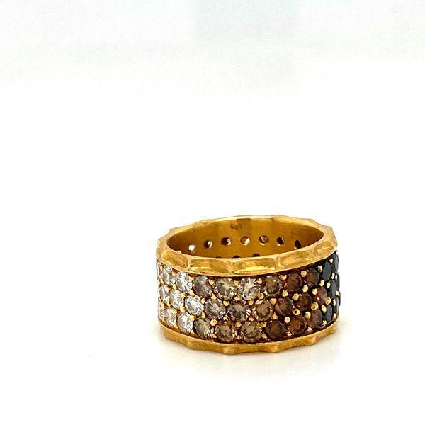 Estate Diamond Ombre Ring Image 3 Toner Jewelers Overland Park, KS