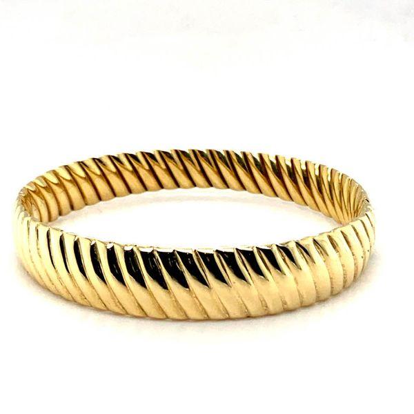 Estate Gold Bangle Toner Jewelers Overland Park, KS