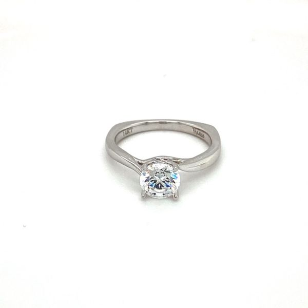 14K White Gold Engagement Ring Setting Toner Jewelers Overland Park, KS