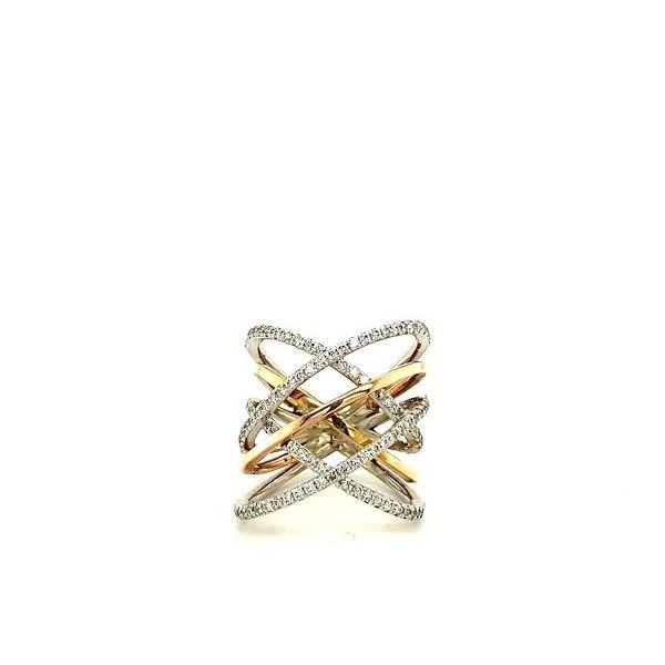 Tri-Gold Diamond Ring  Toner Jewelers Overland Park, KS