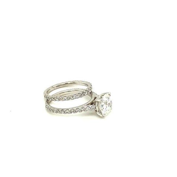 Estate Diamond Ring Set Image 2 Toner Jewelers Overland Park, KS