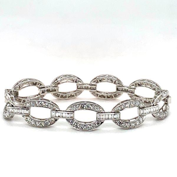 Diamond Link Bracelet Toner Jewelers Overland Park, KS