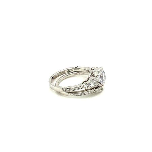 Simon G. Diamond Ring Set Image 3 Toner Jewelers Overland Park, KS