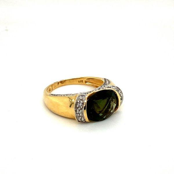 Estate Moldavite Ring Toner Jewelers Overland Park, KS