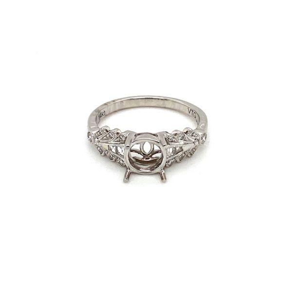 Engagement Ring Mount Setting Toner Jewelers Overland Park, KS