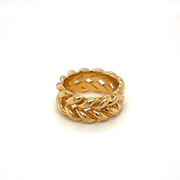 Estate Gold Woven Band Toner Jewelers Overland Park, KS