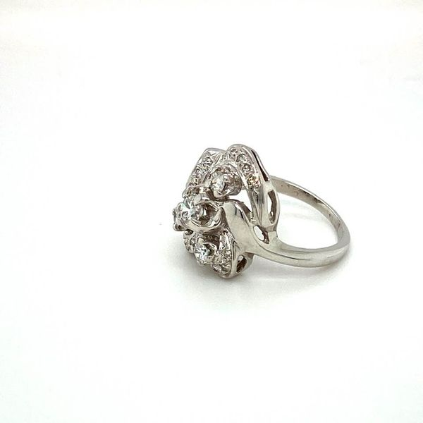 Vintage Estate Diamond Ring Image 2 Toner Jewelers Overland Park, KS