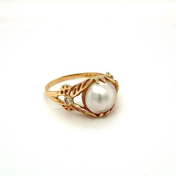 Estate Pearl Ring Toner Jewelers Overland Park, KS
