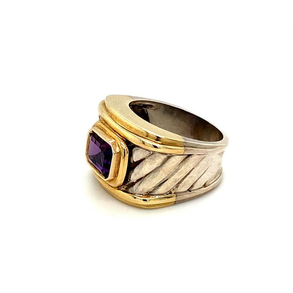 Estate Gold and Silver Ring Image 3 Toner Jewelers Overland Park, KS