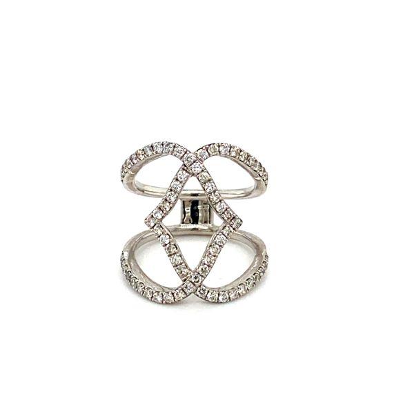 Diamond Geometric Ring Toner Jewelers Overland Park, KS