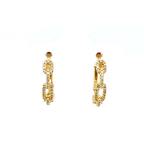 Diamond Chain Hoops Toner Jewelers Overland Park, KS