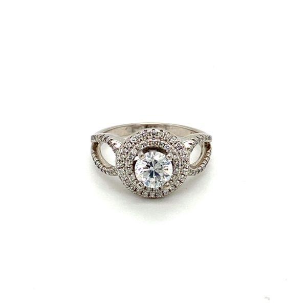 14K White Gold Diamond Engagement Ring Setting Toner Jewelers Overland Park, KS