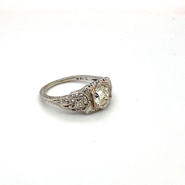 Estate Vintage Diamond Ring Image 2 Toner Jewelers Overland Park, KS