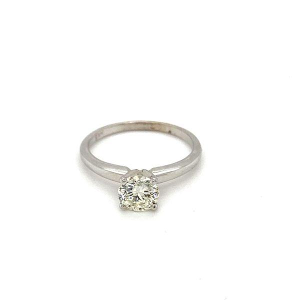 Round Solitaire Diamond Engagement Ring  Toner Jewelers Overland Park, KS