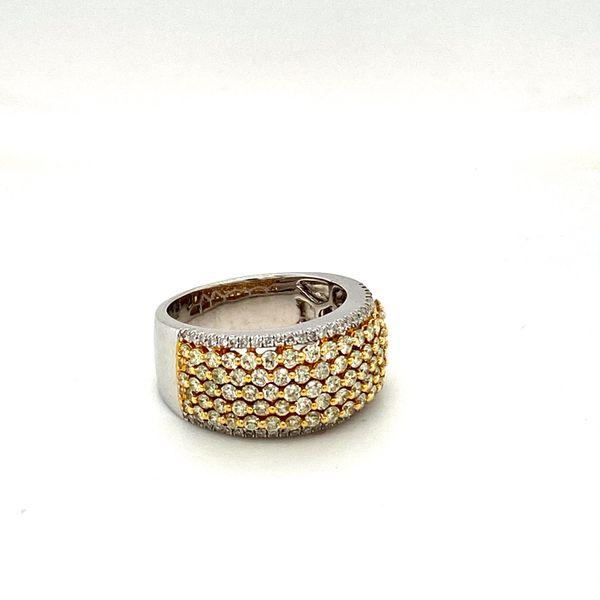 Estate Yellow Diamond Ring Image 2 Toner Jewelers Overland Park, KS