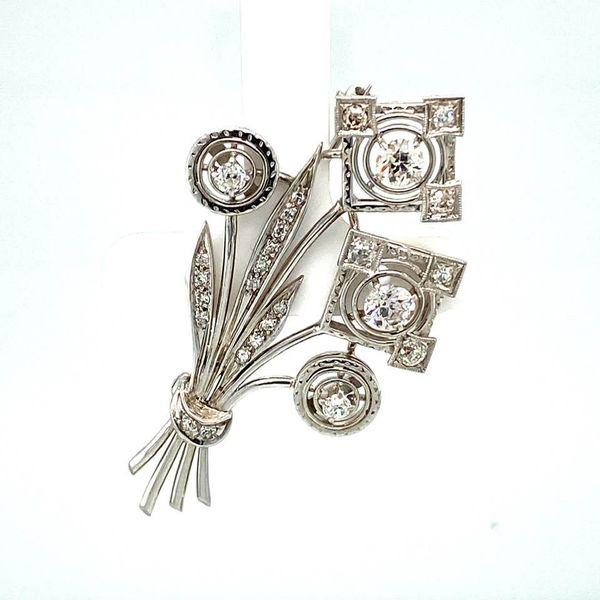 Estate Diamond Wheat Brooch Toner Jewelers Overland Park, KS