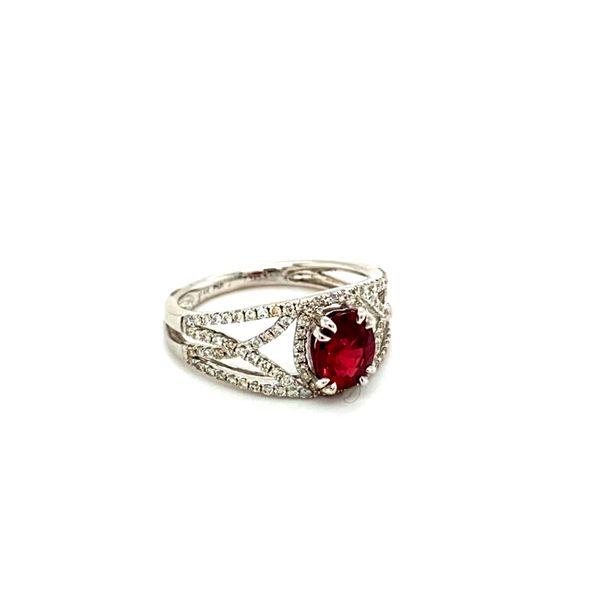 Ruby and Diamond Ring Image 3 Toner Jewelers Overland Park, KS