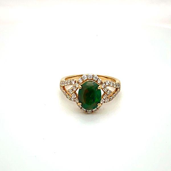 Opal and Diamond Ring Toner Jewelers Overland Park, KS