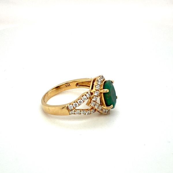 Opal and Diamond Ring Image 2 Toner Jewelers Overland Park, KS