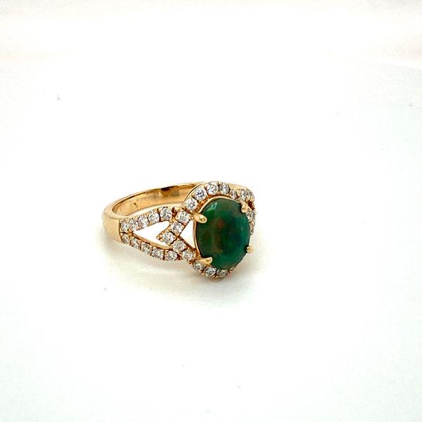 Opal and Diamond Ring Image 3 Toner Jewelers Overland Park, KS