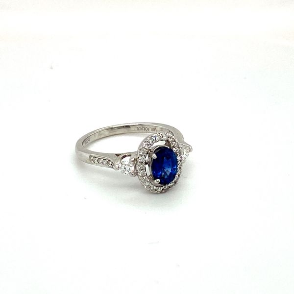 Sapphire and Diamond Ring Toner Jewelers Overland Park, KS