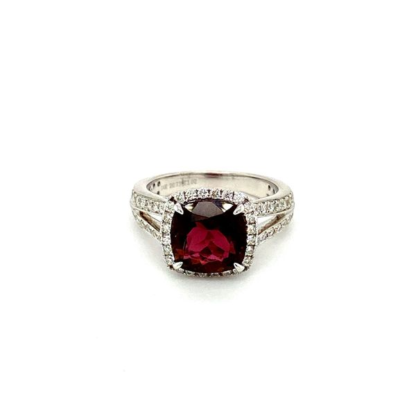 Garnet and Diamond Ring Toner Jewelers Overland Park, KS