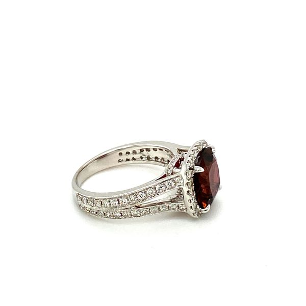 Garnet and Diamond Ring Image 2 Toner Jewelers Overland Park, KS