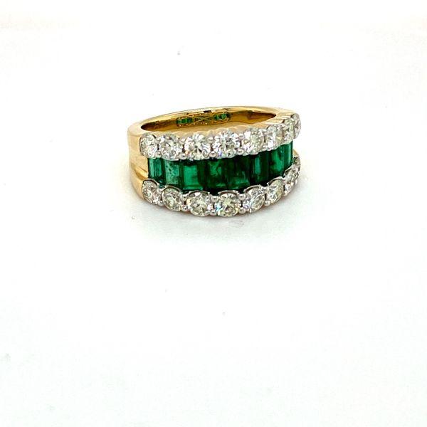 Emerald and Diamond Ring Toner Jewelers Overland Park, KS