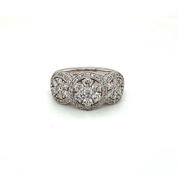 Diamond Cluster Ring Toner Jewelers Overland Park, KS