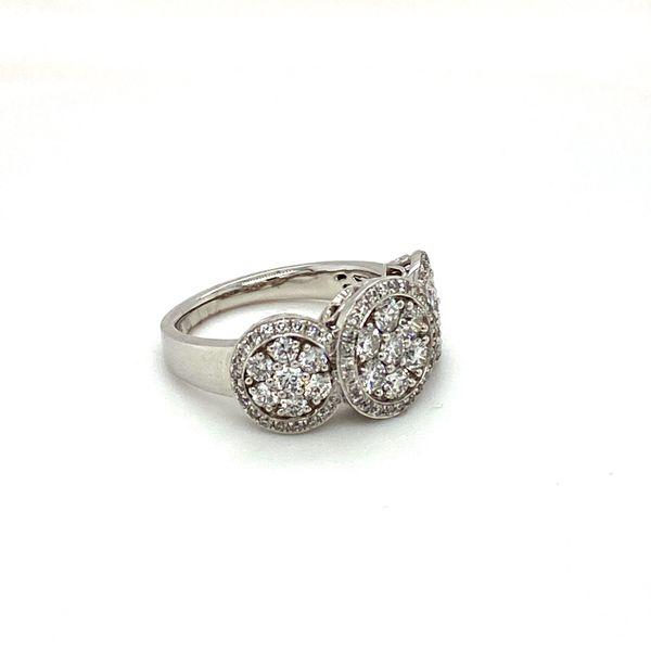 Diamond Cluster Ring Image 2 Toner Jewelers Overland Park, KS