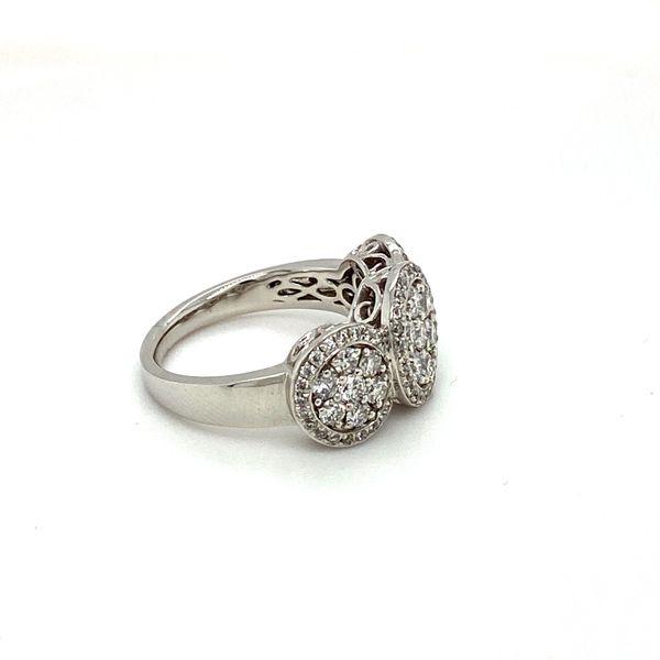 Diamond Cluster Ring Image 3 Toner Jewelers Overland Park, KS