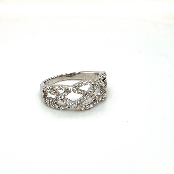 Diamond Weave Ring Toner Jewelers Overland Park, KS