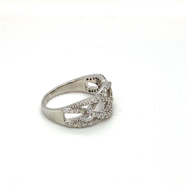 Diamond Weave Ring Image 2 Toner Jewelers Overland Park, KS
