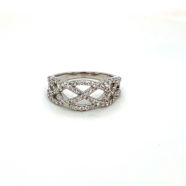 Diamond Weave Ring Image 3 Toner Jewelers Overland Park, KS