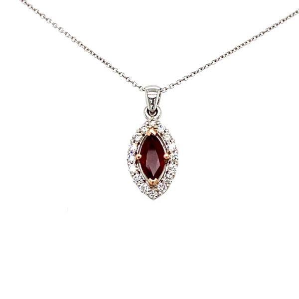 Ruby and Diamond Necklace Toner Jewelers Overland Park, KS