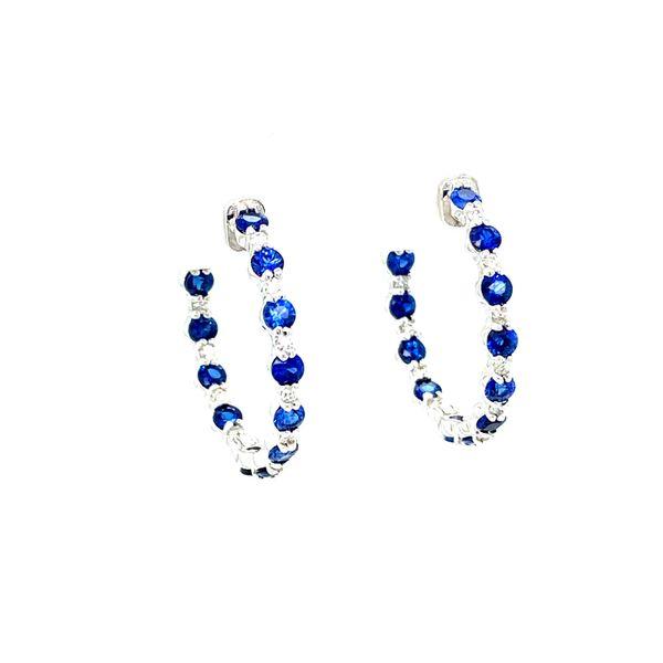 Sapphire and Diamond Earrings Toner Jewelers Overland Park, KS