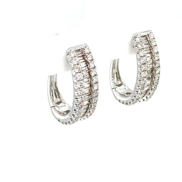 Diamond Hoop Earrings Toner Jewelers Overland Park, KS