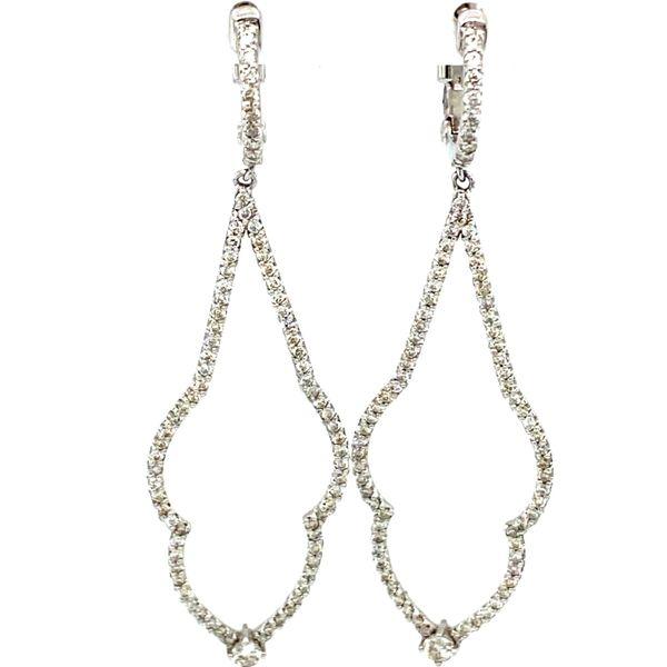 Diamond Drop Earrings Toner Jewelers Overland Park, KS