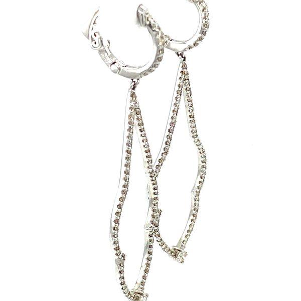 Diamond Drop Earrings Image 3 Toner Jewelers Overland Park, KS