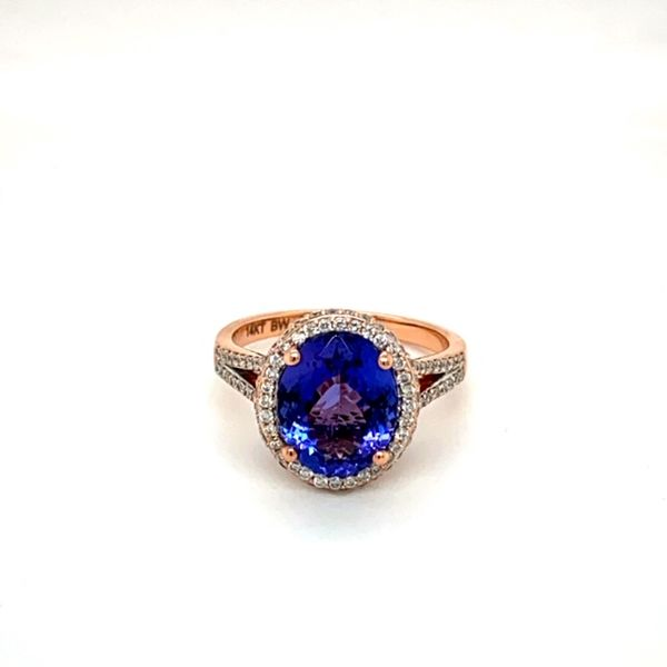 Estate Tanzanite Ring Toner Jewelers Overland Park, KS