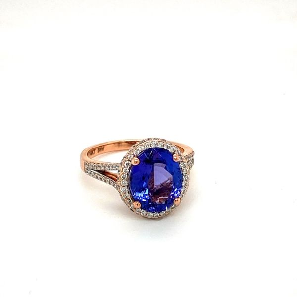 Estate Tanzanite Ring Image 2 Toner Jewelers Overland Park, KS