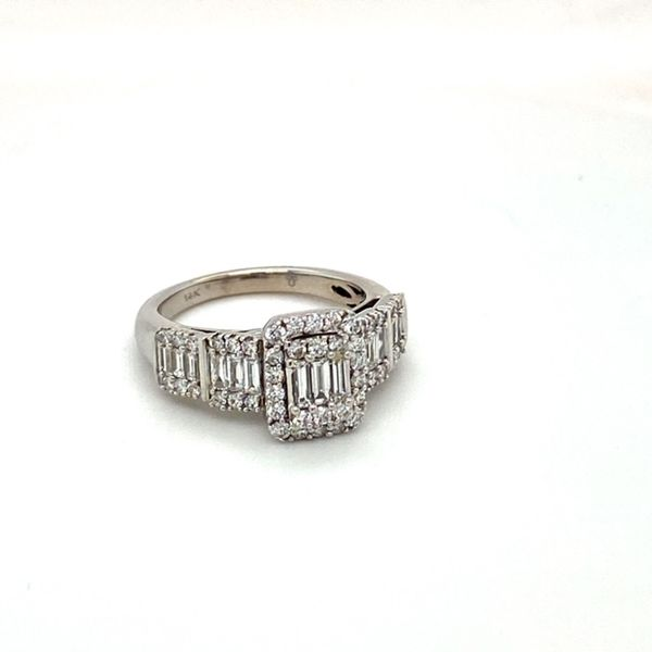 Estate Diamond Mosaic Ring Image 2 Toner Jewelers Overland Park, KS