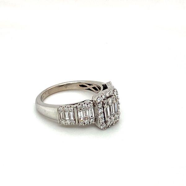 Estate Diamond Mosaic Ring Image 3 Toner Jewelers Overland Park, KS