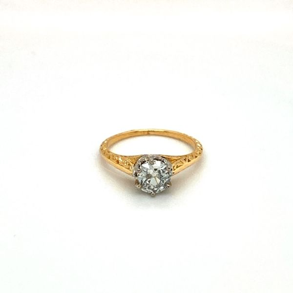 Estate Antique Engagement Ring Toner Jewelers Overland Park, KS