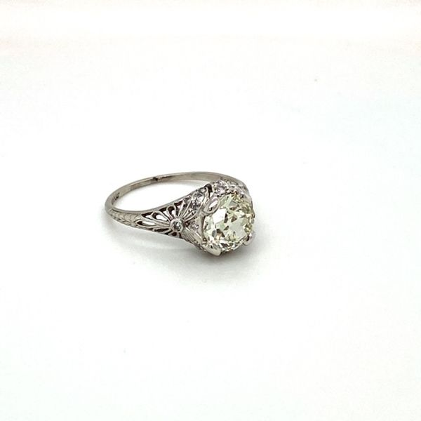 Estate Antique Engagement Ring Image 2 Toner Jewelers Overland Park, KS