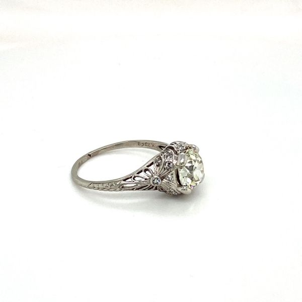 Estate Antique Engagement Ring Image 3 Toner Jewelers Overland Park, KS